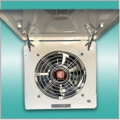 Оконный вентилятор с регулятором DAVEGO DFC-250