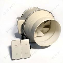 Вентилятор канальный HZ-250/2 DAVEGO с переключателем