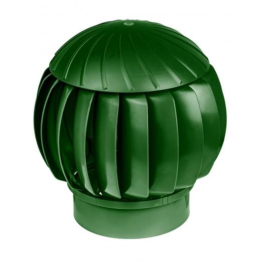 Дефлектор 160мм зеленый пластиковый (Нанодефлектор)