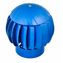 ТУРБОДЕФЛЕКТОР 160 синий пластиковый