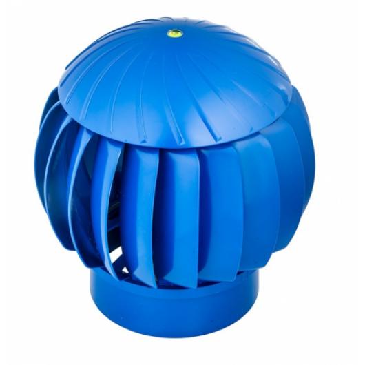 Дефлектор 160мм синий пластиковый