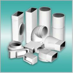 Система пластиковых воздуховодов